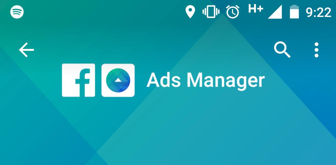 Ads Manager - Facebook